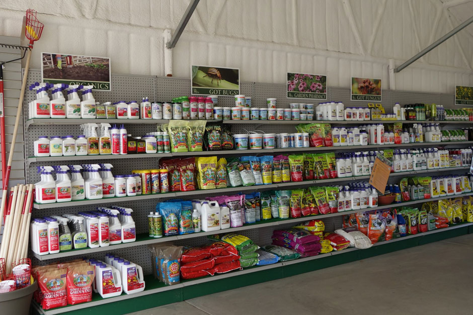 At Four Seasons Greenhouse U0026 Nursery, We Feature A Full Service Garden  Center Stocked With Garden Supplies Such As Premium Plant Material, Organic  Gardening ...